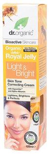 DR ORGANIC Light & Bright Cream Organic Royal Jelly 125ml
