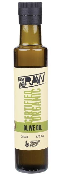 EVERY BIT ORGANIC RAW Olive Oil Cold Pressed - Extra Virgin 250ml