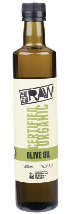 EVERY BIT ORGANIC RAW Olive Oil Cold Pressed - Extra Virgin 500ml