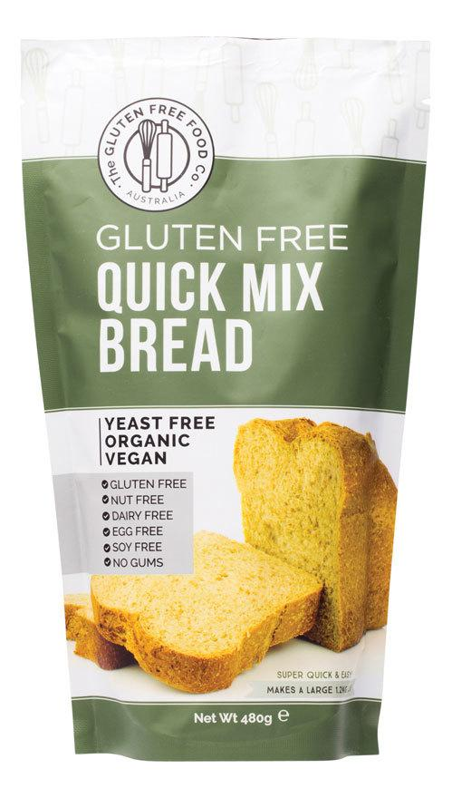 THE GLUTEN FREE FOOD CO. Quick Bread Mix 480g