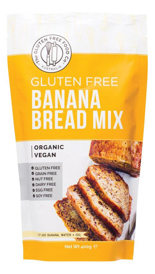 THE GLUTEN FREE FOOD CO. Banana Bread Mix 400g