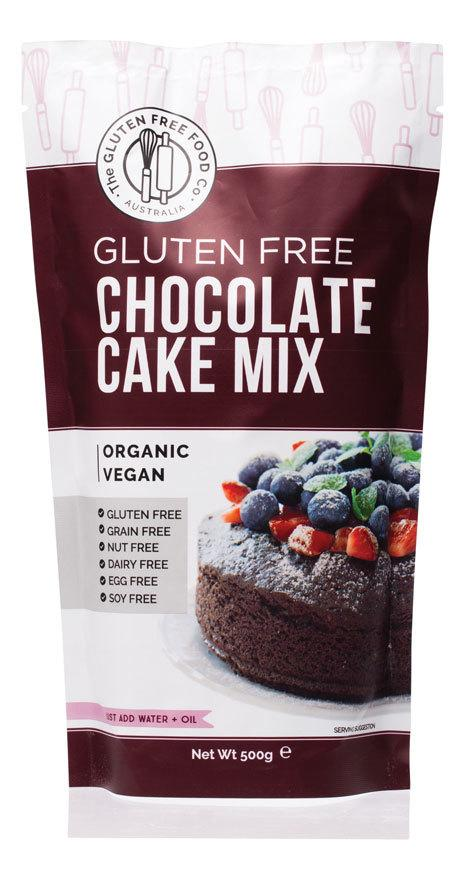 THE GLUTEN FREE FOOD CO. Chocolate Cake Mix 500g