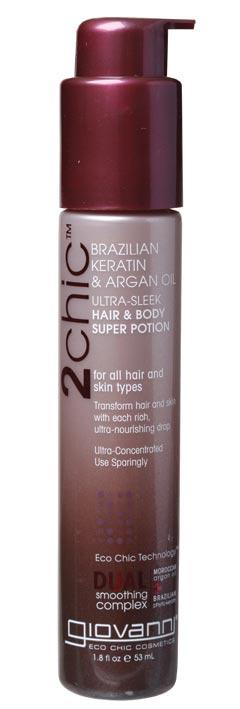GIOVANNI Hair & Body Lotion - 2chic Ultra-Sleek (All Hair) 53ml