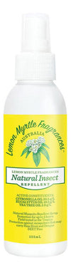 LEMON MYRTLE FRAGRANCES Natural Insect Repellent  125ml
