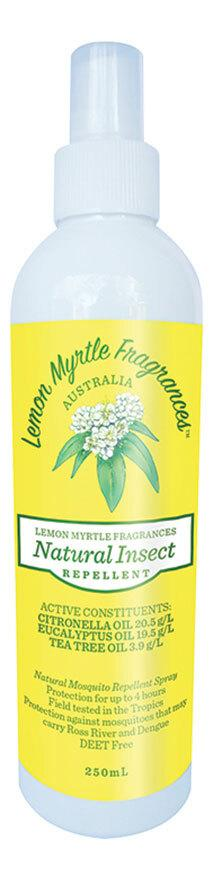 LEMON MYRTLE FRAGRANCES Natural Insect Repellent  250ml