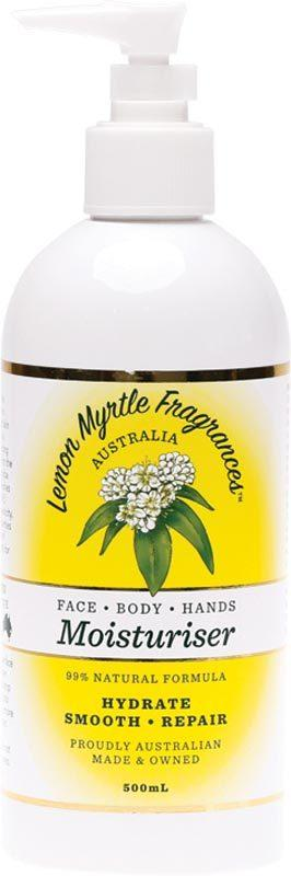 LEMON MYRTLE FRAGRANCES Moisturiser  500ml