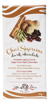 LITTLE ZEBRA CHOCOLATES Dark Chocolate Chai Supreme 85g