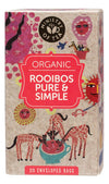 MINISTRY OF TEA Herbal Tea Bags Rooibos Pure & Simple 20