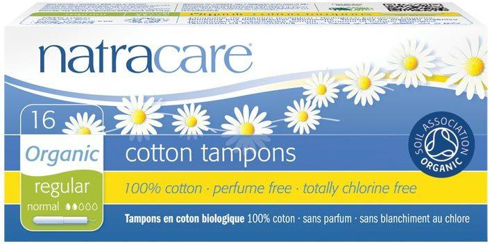 NATRACARE Tampons (Applicator) Regular 16