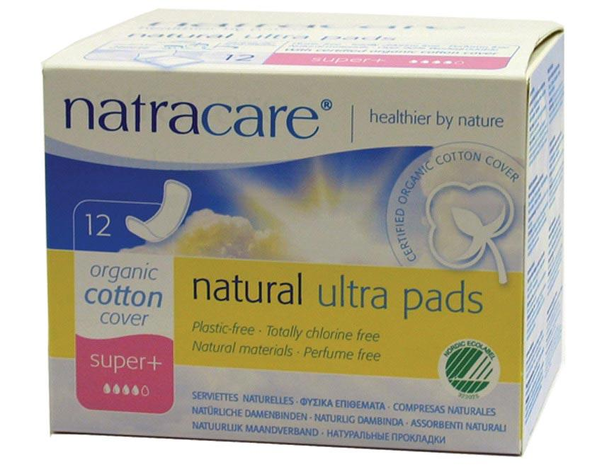 NATRACARE Ultra Pads Super Plus 12
