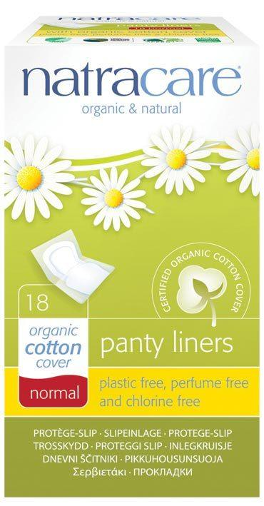 NATRACARE Panty Liners Normal - Individually Wrapped 18