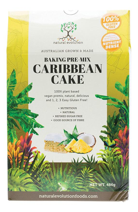 NATURAL EVOLUTION Caribbean Cake Mix  486g