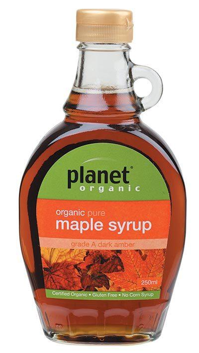 PLANET ORGANIC Maple Syrup Grade A 250ml