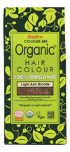 RADICO Colour Me Organic - Hair Colour Powder - Light Ash Blonde 100g
