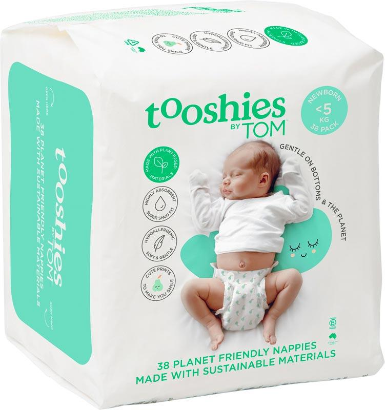 TOOSHIES BY TOM Nappies Newborn - <5kg 38