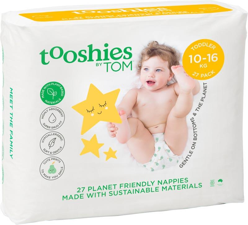 TOOSHIES BY TOM Nappies Toddler - 10-16kg 27