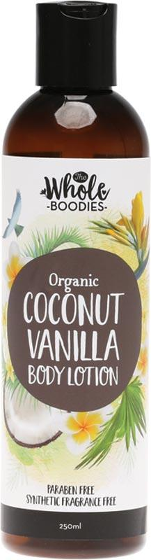 THE WHOLE BOODIES Body Lotion Coconut Vanilla 250ml
