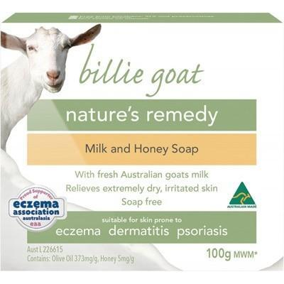 BILLIE GOAT Soap Goat's Milk - Milk & Honey 100g