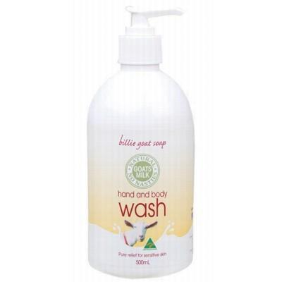 BILLIE GOAT Hand & Body Wash Goat's Milk 500ml