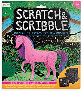 Ooly - Scratch & Scribble - Unicorns