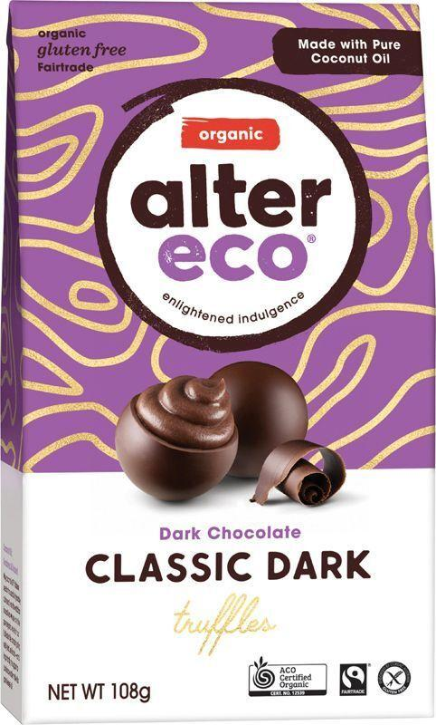 ALTER ECO Chocolate (Organic) Classic Dark Truffles 108g
