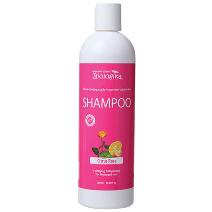 BIOLOGIKA Shampoo Citrus Rose (Damaged Hair) 500ml