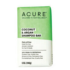 ACURE Coconut & Argan Shampoo Bar
