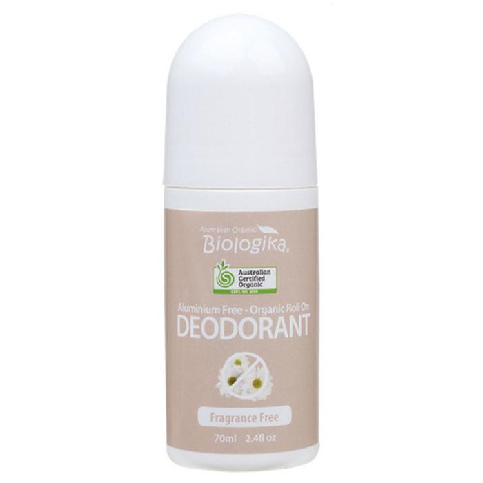 BIOLOGIKA Roll-On Deodorant Fragrance Free 70ml