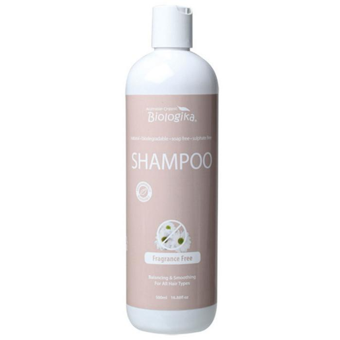 BIOLOGIKA Shampoo Fragrance Free 500ml