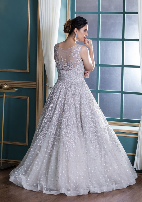 Koskii Net Ball Gown