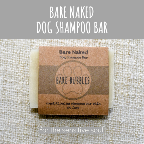 Dog Shampoo Bar: Bare Naked