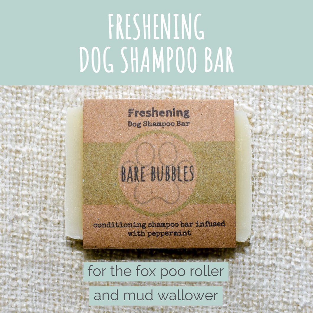 Dog Shampoo Bar: Freshening