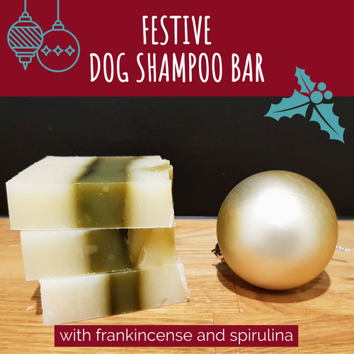 Dog Shampoo Bar: Festive