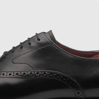 AJAX BLACK Goodyear Welted