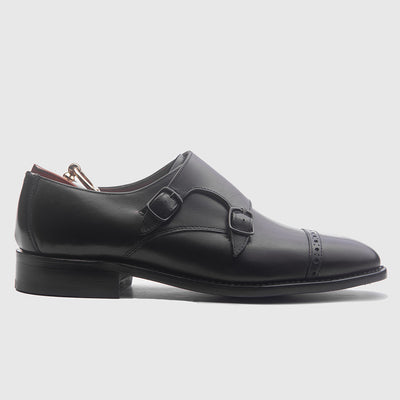 LEO BLACK Goodyear Welted