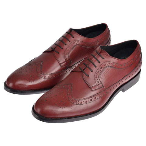 Bang Burgundy Brogues - plnkstore