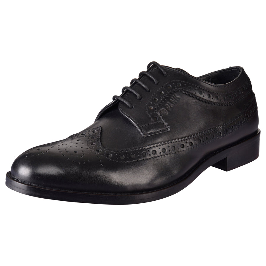 Zion Black Brogues