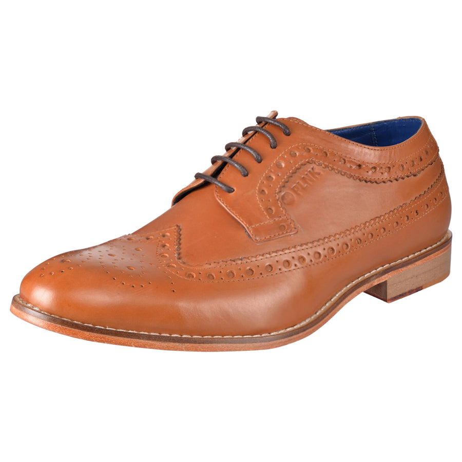 Zion Tan Brogues