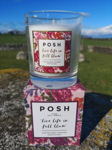 Stop and Smell the Roses... POSH Candle