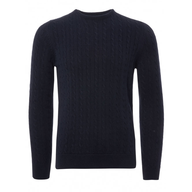 2eace1879017 None Of The Above Cable Knit Jumper