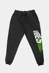 VIBES 3D Collection Black Fleece Pants