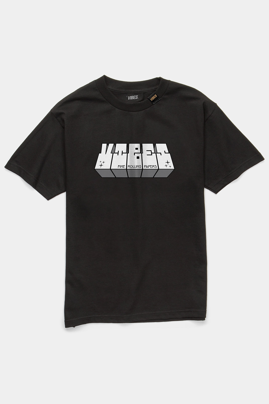 VIBES Block Collection Black T-Shirt