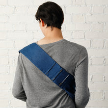 Load image into Gallery viewer, LONG / Bétta Carry me! DENIM (Navy)