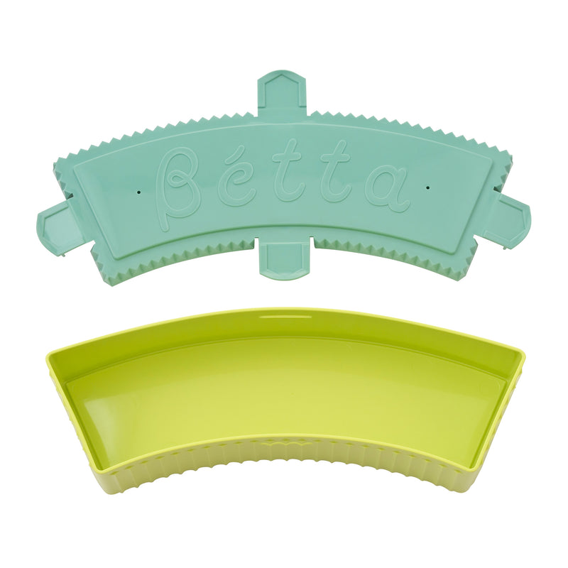 Bétta microwave sterilization box Curve (Lime Green)