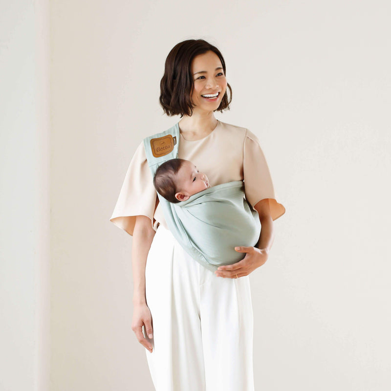 Bétta Carry me! HERRINGBONE (Mint)