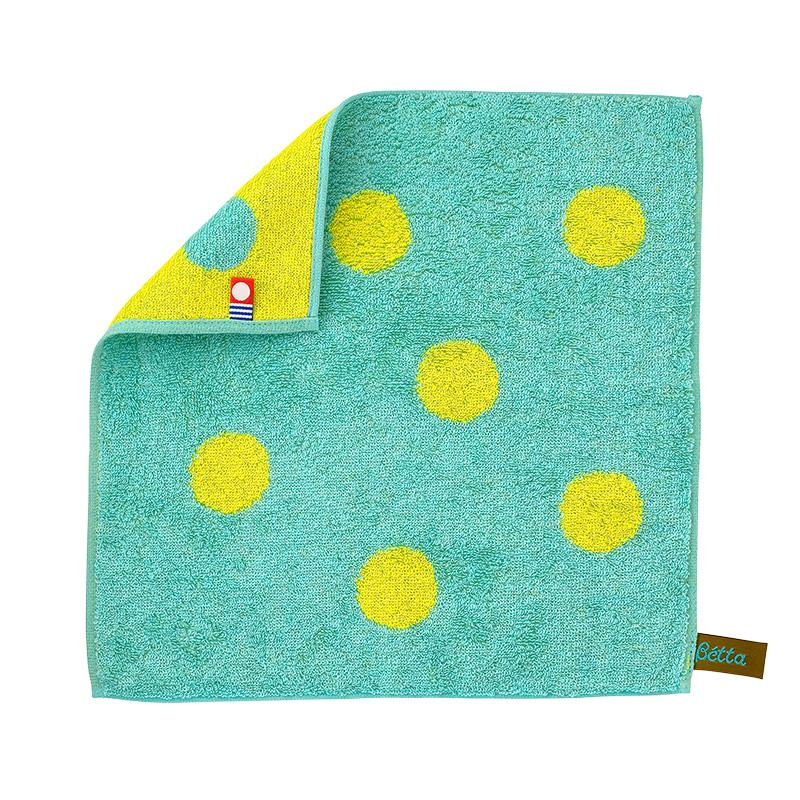 Bétta Silk Towel Handkerchief (Green)