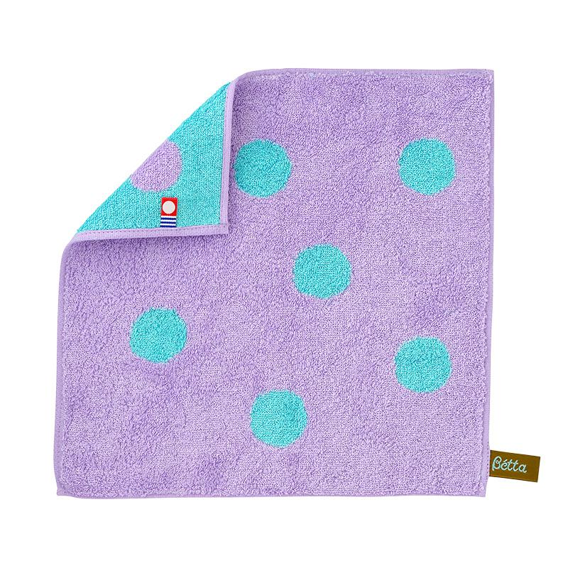 Bétta Silk Towel Handkerchief (Purple)