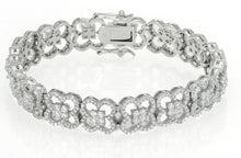 Load image into Gallery viewer, Stunning Designer 7.70ct TW AAA Quality CZ Bracelet in 925  Sterling Silver