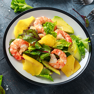 Keto Recipes | Fresh Shrimp Mango & Avocado Salad