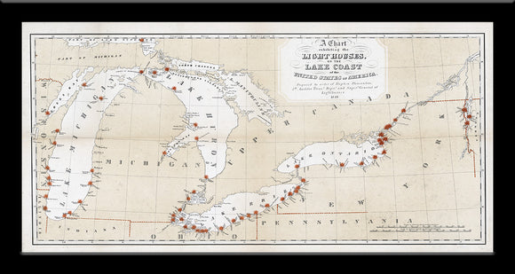 Great Lakes Lighthouses • 1848
